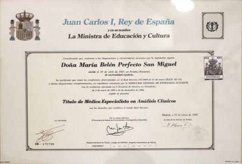 Laboratorio Analisis Navarra Belen Especialista Analisis Clinicos