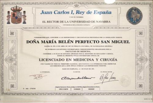 Laboratorio Analisis Navarra Belen Licenciada Medicina